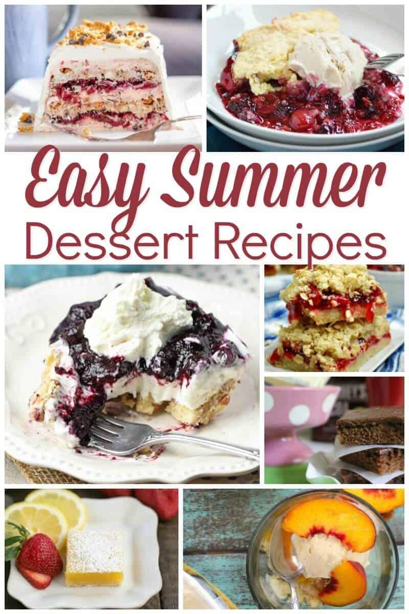 Easy Summer Dessert Recipes