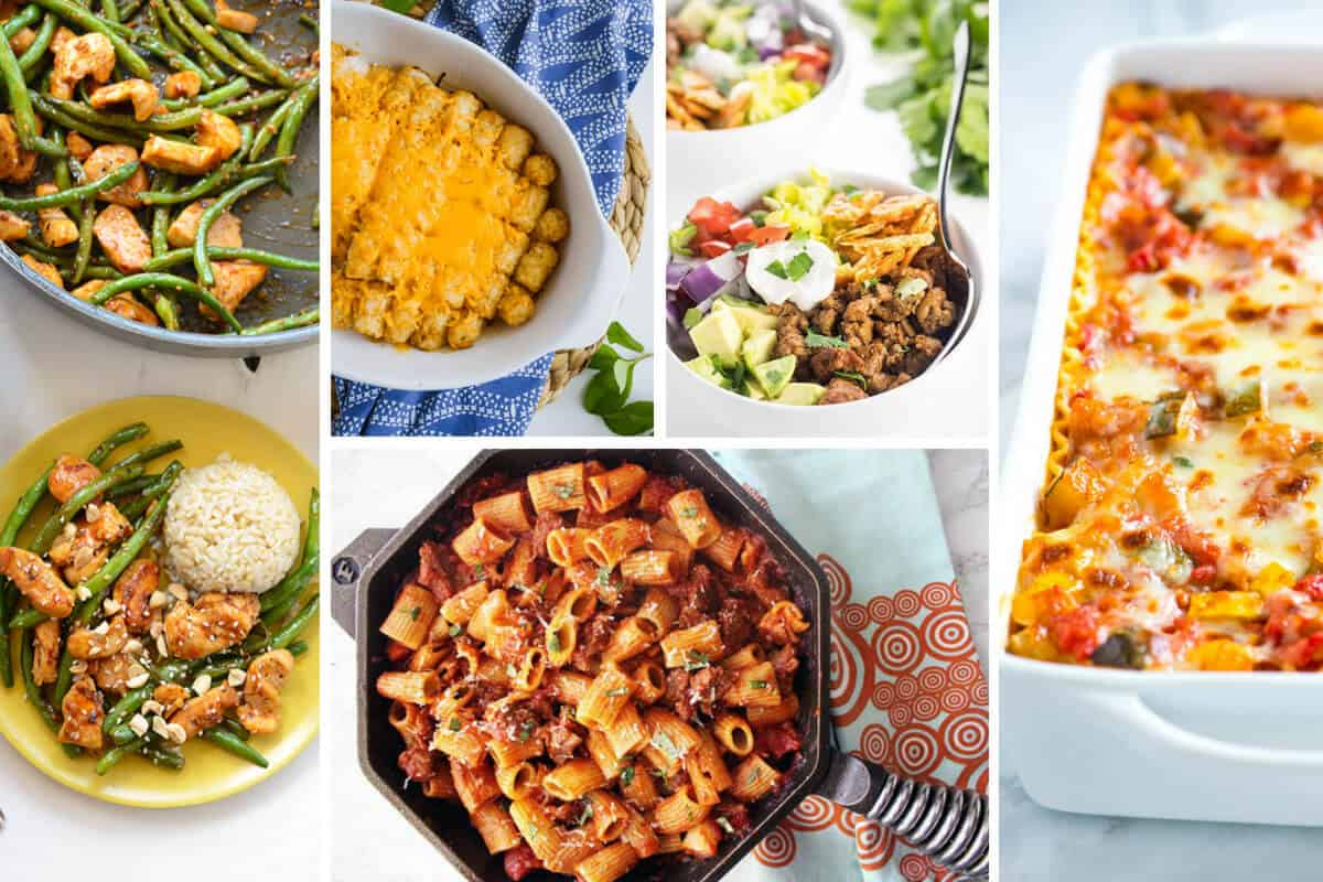 Easy Weeknight Dinners - Part 1