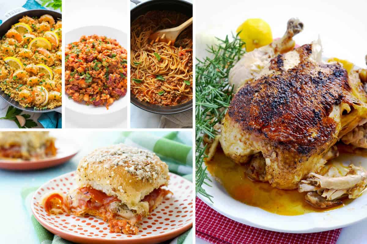 Easy Weeknight Dinners - Part 4