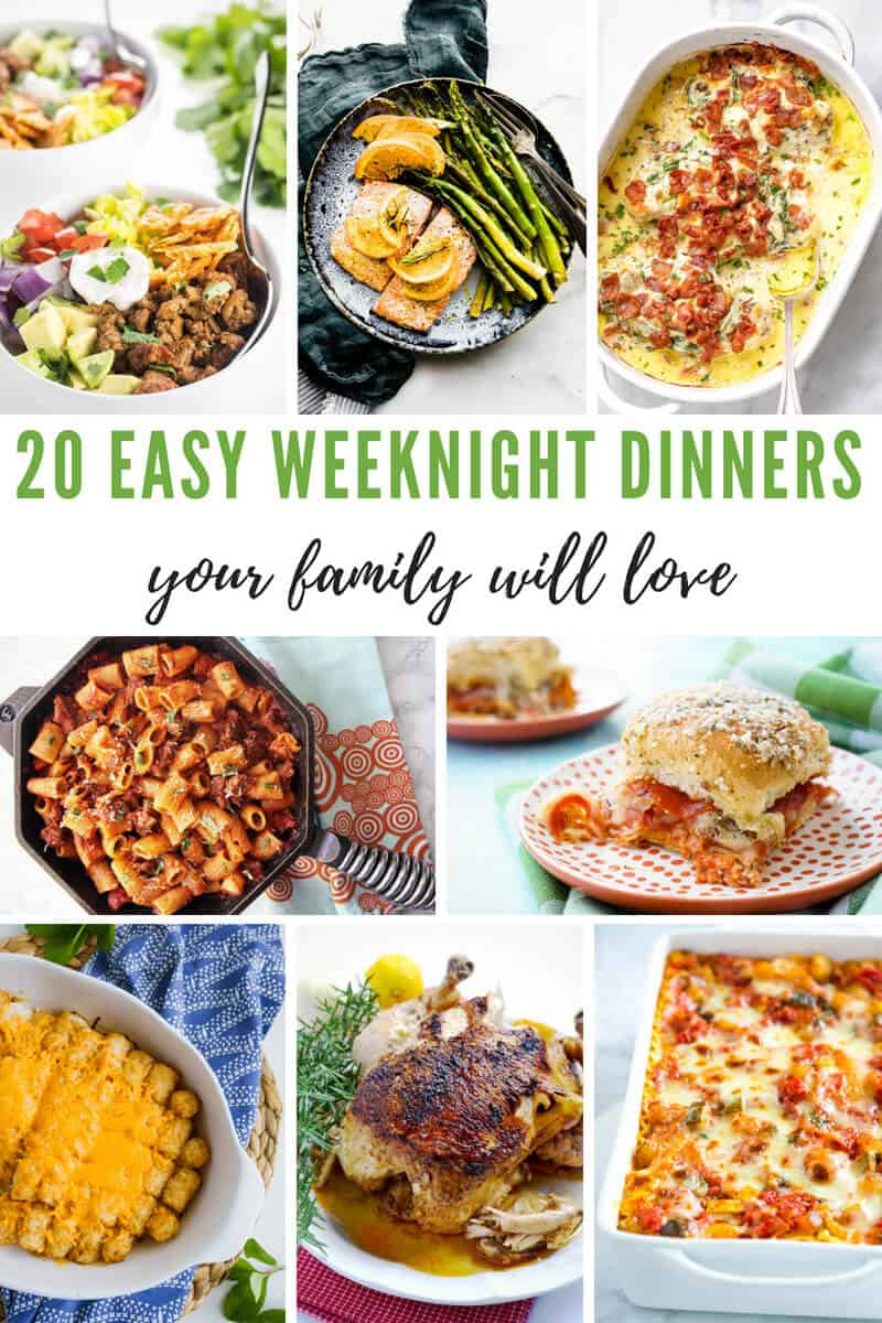 Easy Weeknight Dinners Your Family Will Love