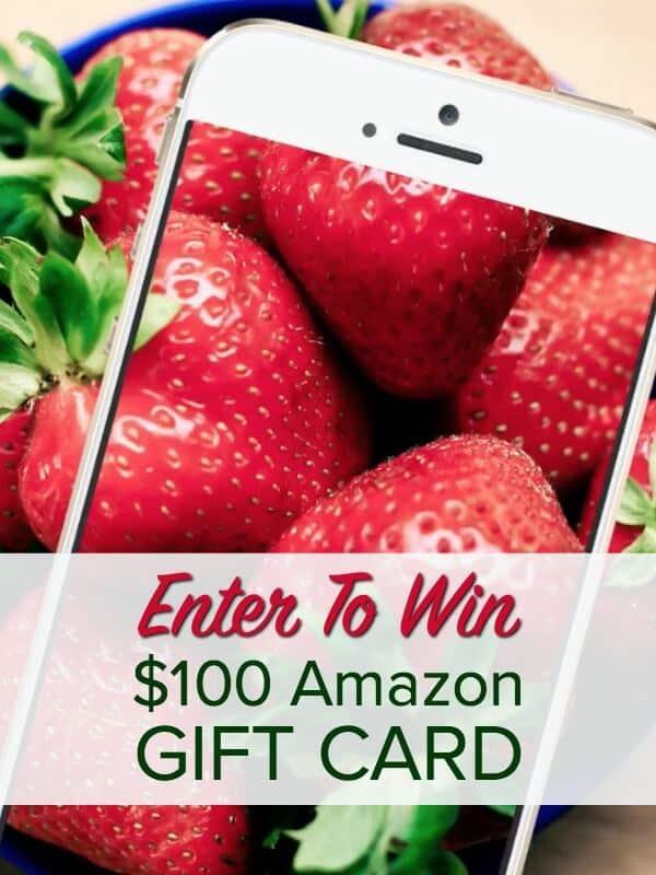 Enter to Win $100 Amazon Gift Card