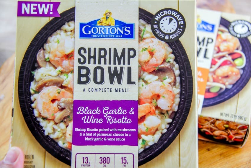 Dinner Made Easy With Gorton's Shrimp Bowls