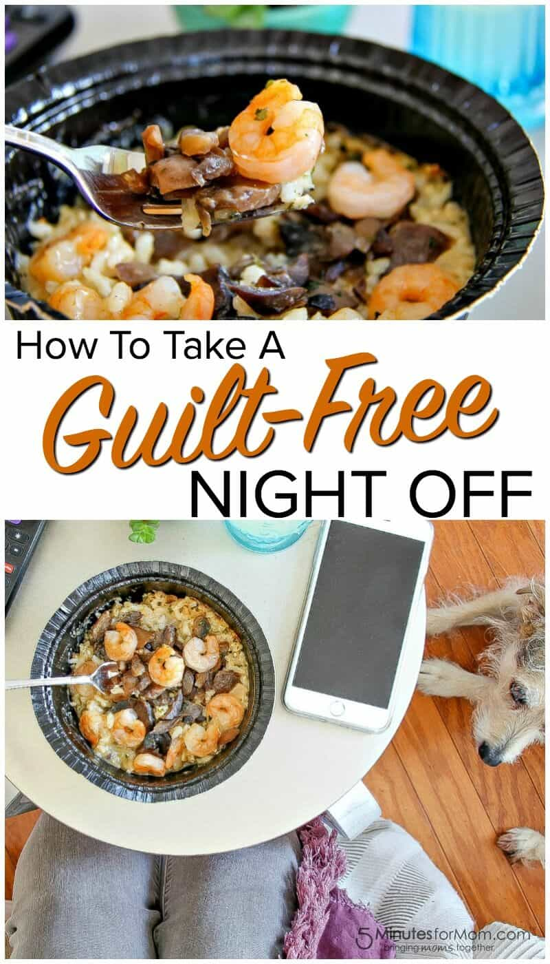 How to Take a Guilt-Free Night Off