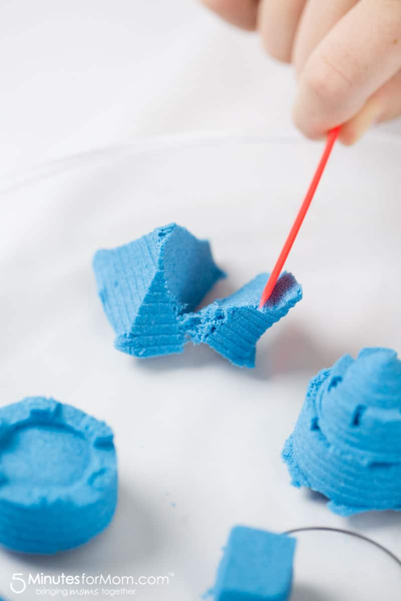 Making Castles with Kinetic Sand