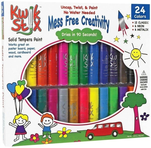 KwikStix Paint Sticks - Great for preschool back to school supplies