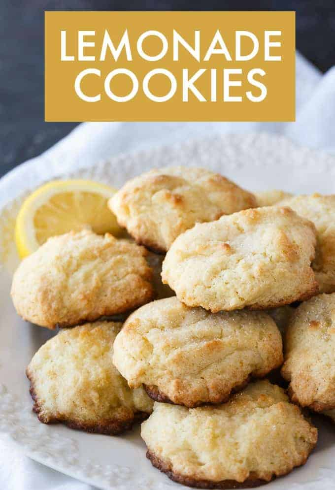 Lemonade Cookies from Simply Stacie - After School Snack