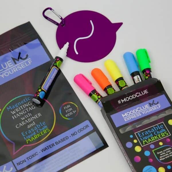 MoodClue Purple Hangtag