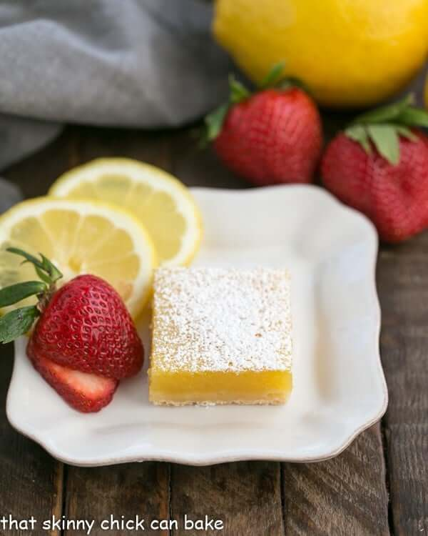 The Best Lemon Bars from That Skinny Chick Can Bake
