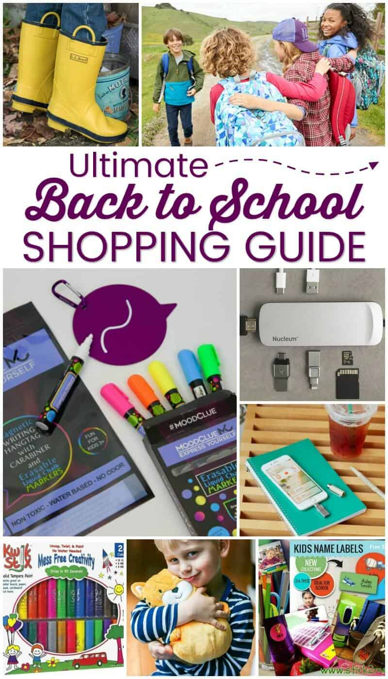 Ultimate Back to School Shopping Guide