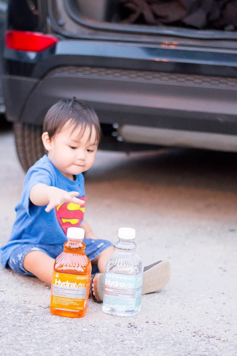 Let's get on the road! Staying hydrated with Hydralyte is key for a family road trip. Stay healthy, stay safe, and most of all: have fun!