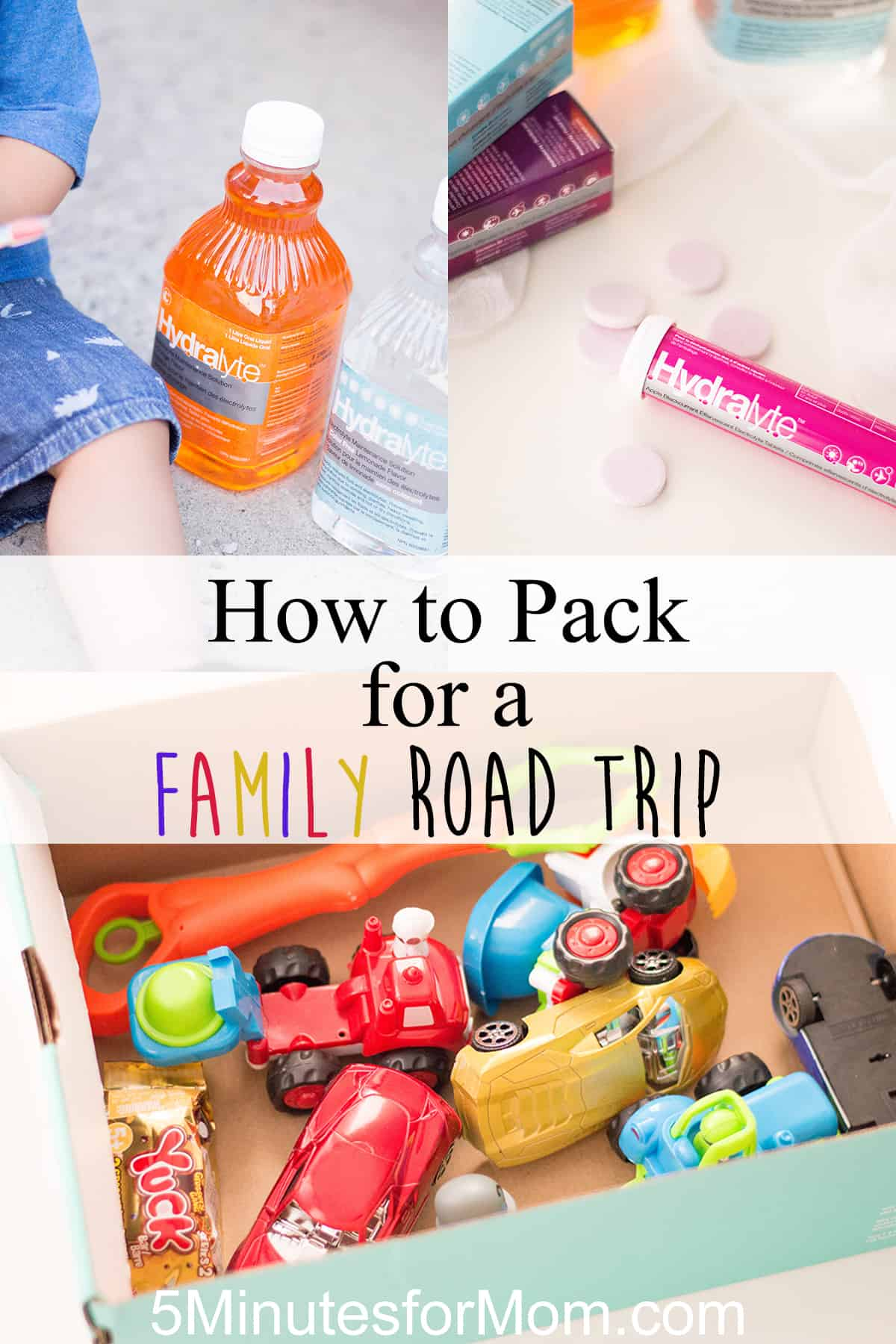 How to Pack for a Family Road Trip - Stay healthy, stay safe, and have fun! #ad #familytravel #roadtrip