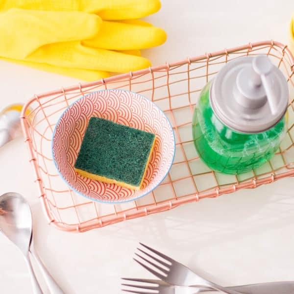 DIY Kitchen Sink Organizer – Quick Home Solution
