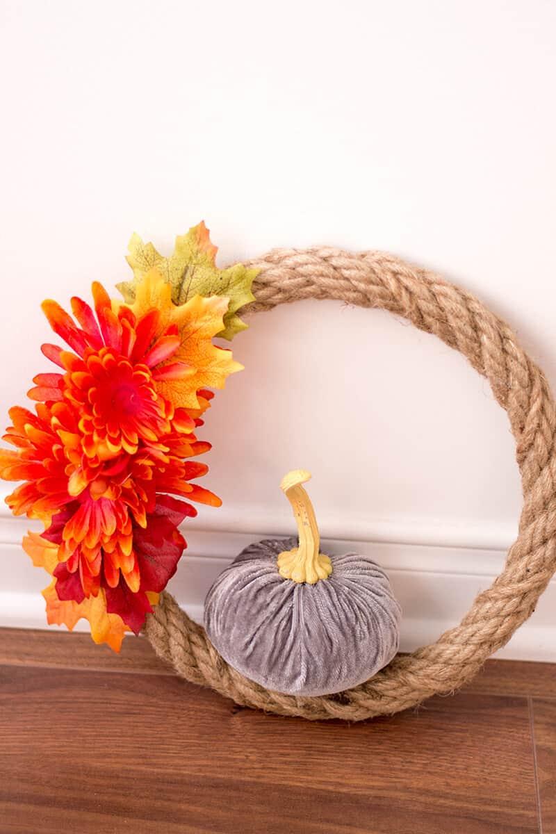 Autumn Ready: Elegant DIY Fall Wreath