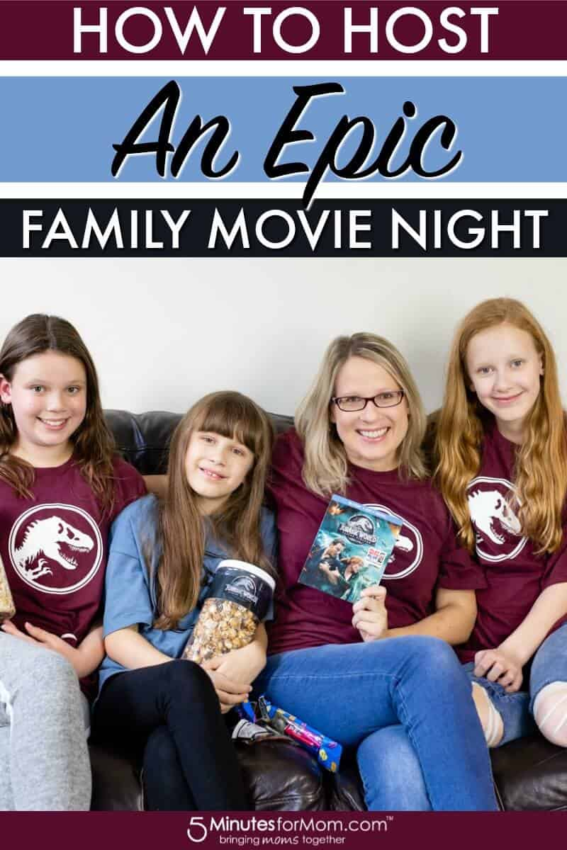 How To Host An Epic Family Movie Night