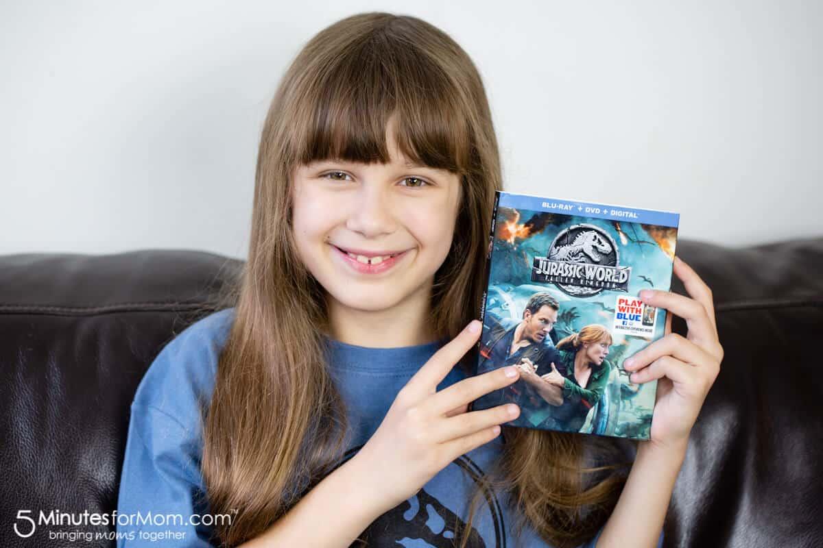 Jurassic World Fallen Kingdom Movie DVD