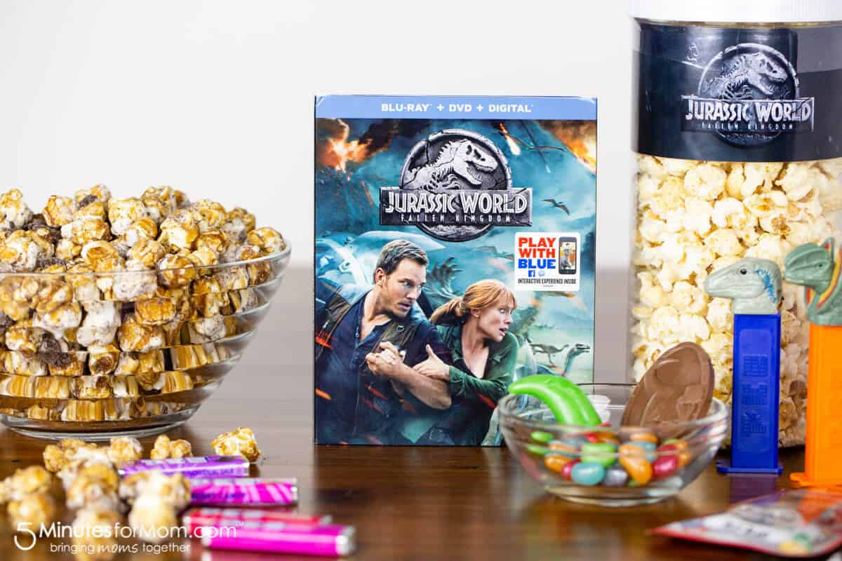 Jurassic World Movie Night Snacks