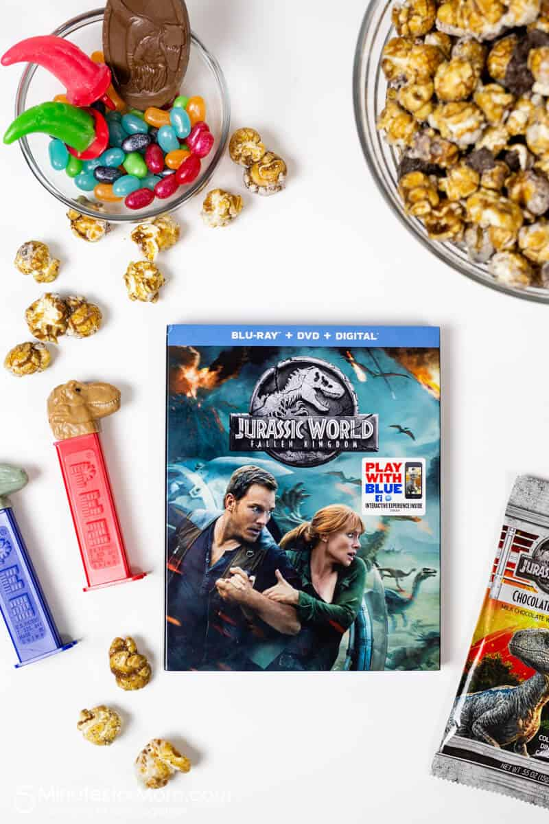 Jurassic World Movie Night Tasty Snacks