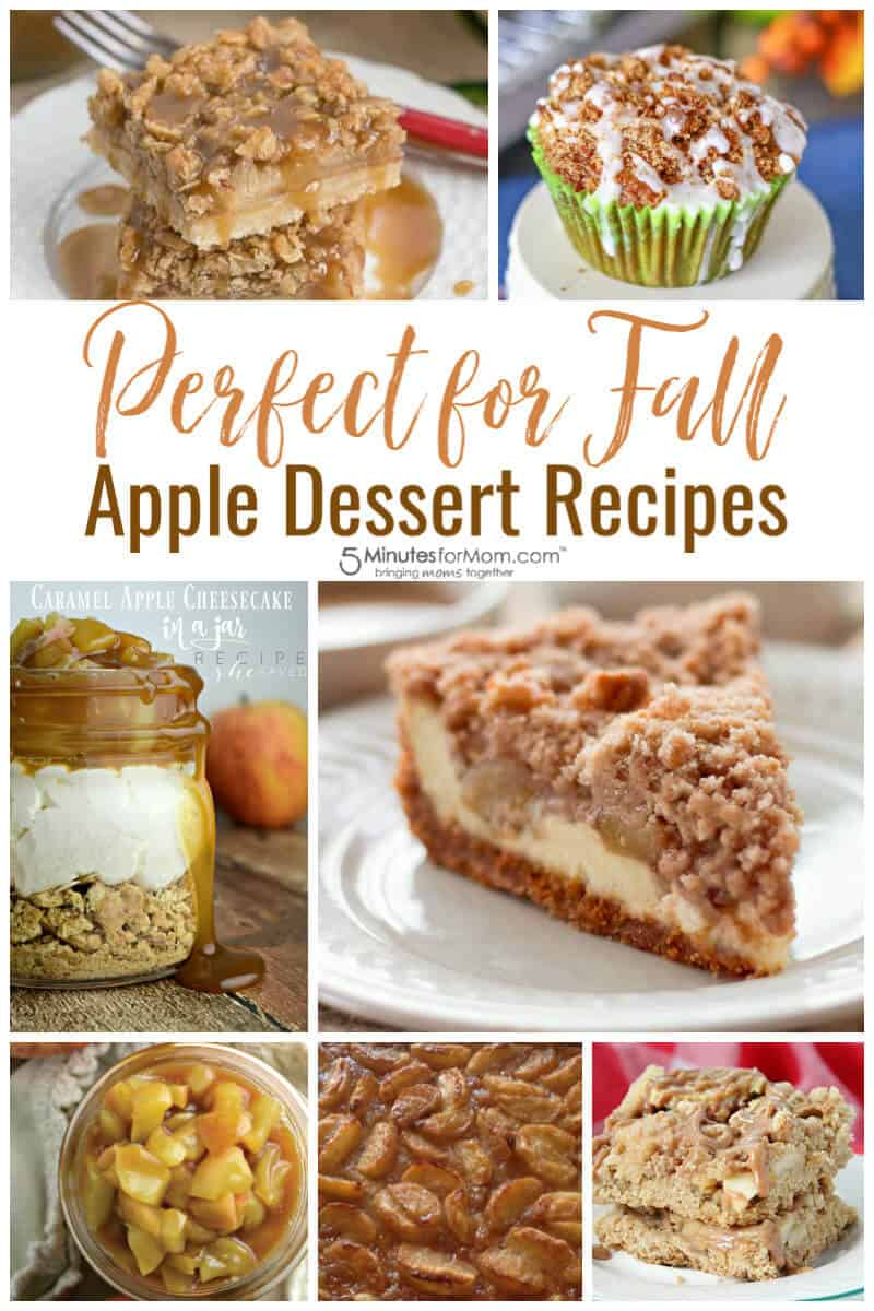 Perfect for Fall Apple Dessert Recipes