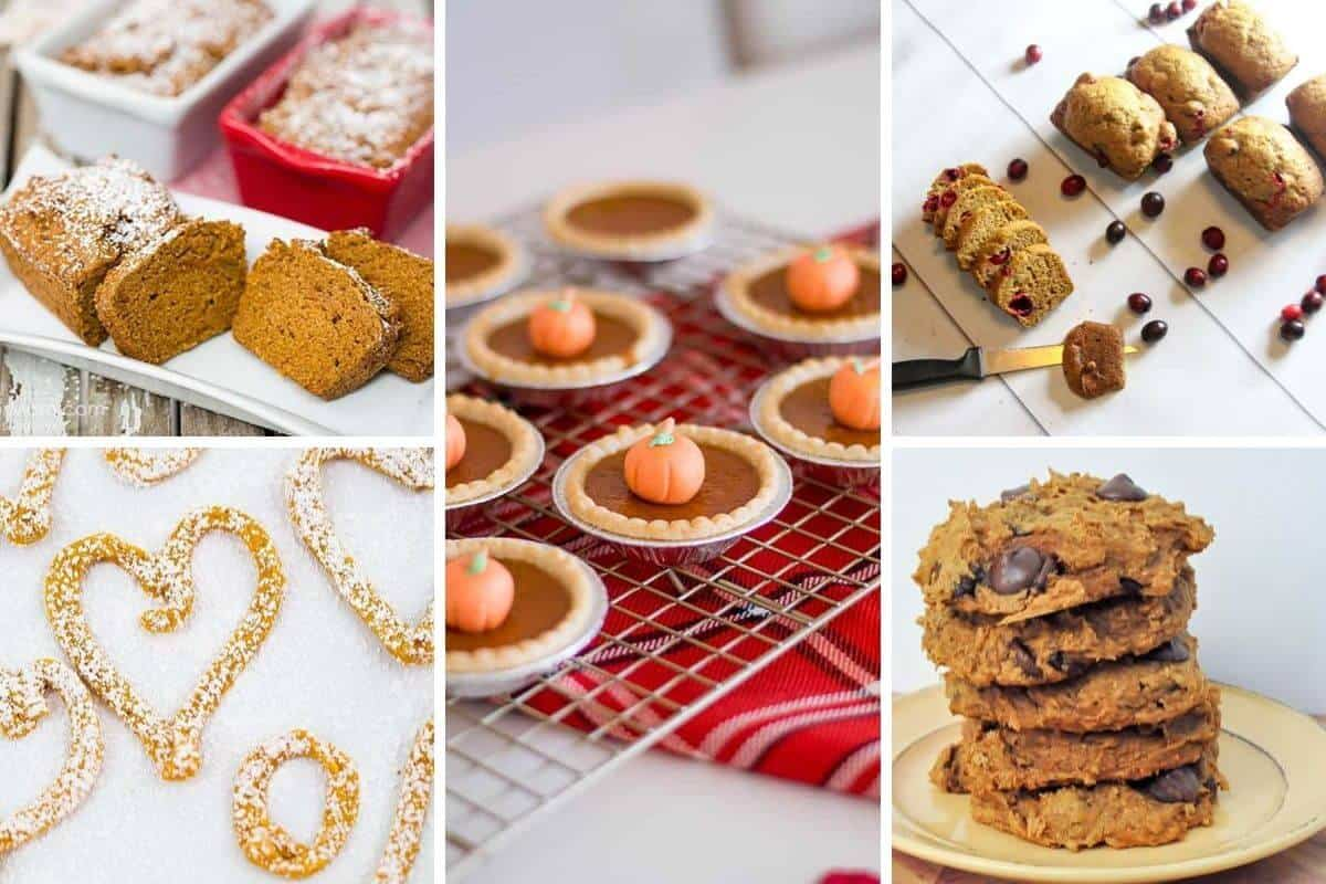 Pumpkin Spice Dessert Recipes from 5 Minutes for Mom