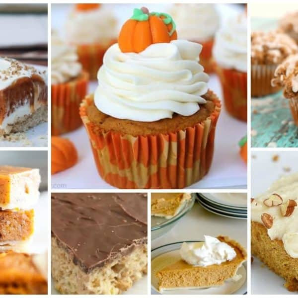 Pumpkin Spice Dessert Recipes and our Delicious Dishes Recipe Party