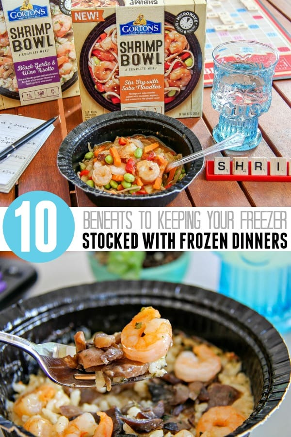 The 10 Benefits of Frozen Dinners