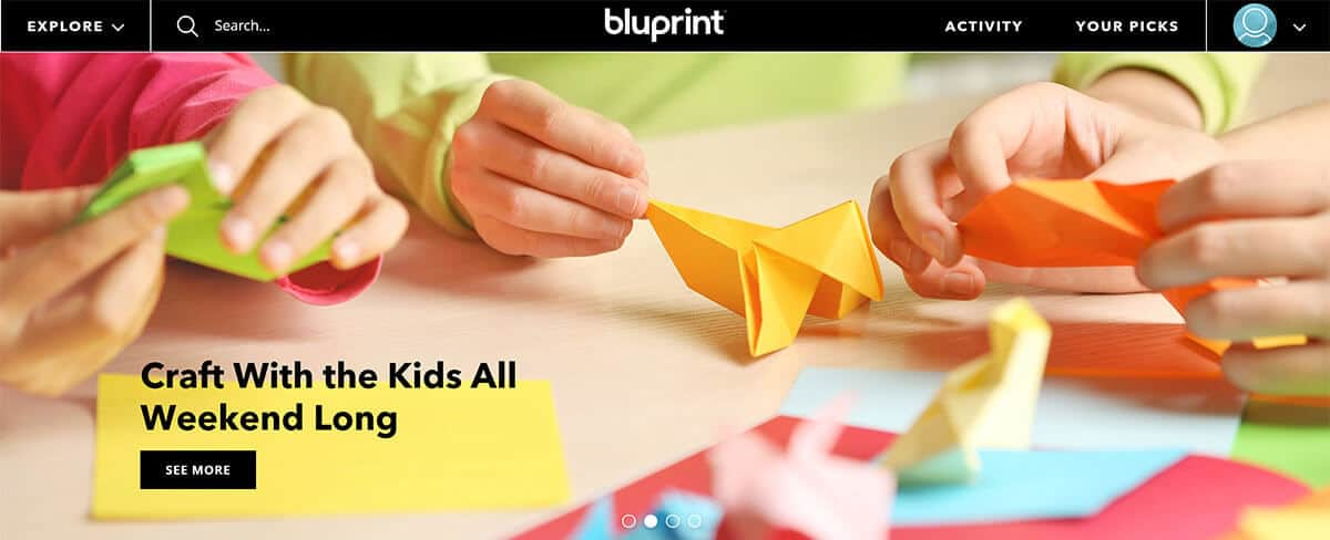 Bluprint - lifestyle learning for kids and family
