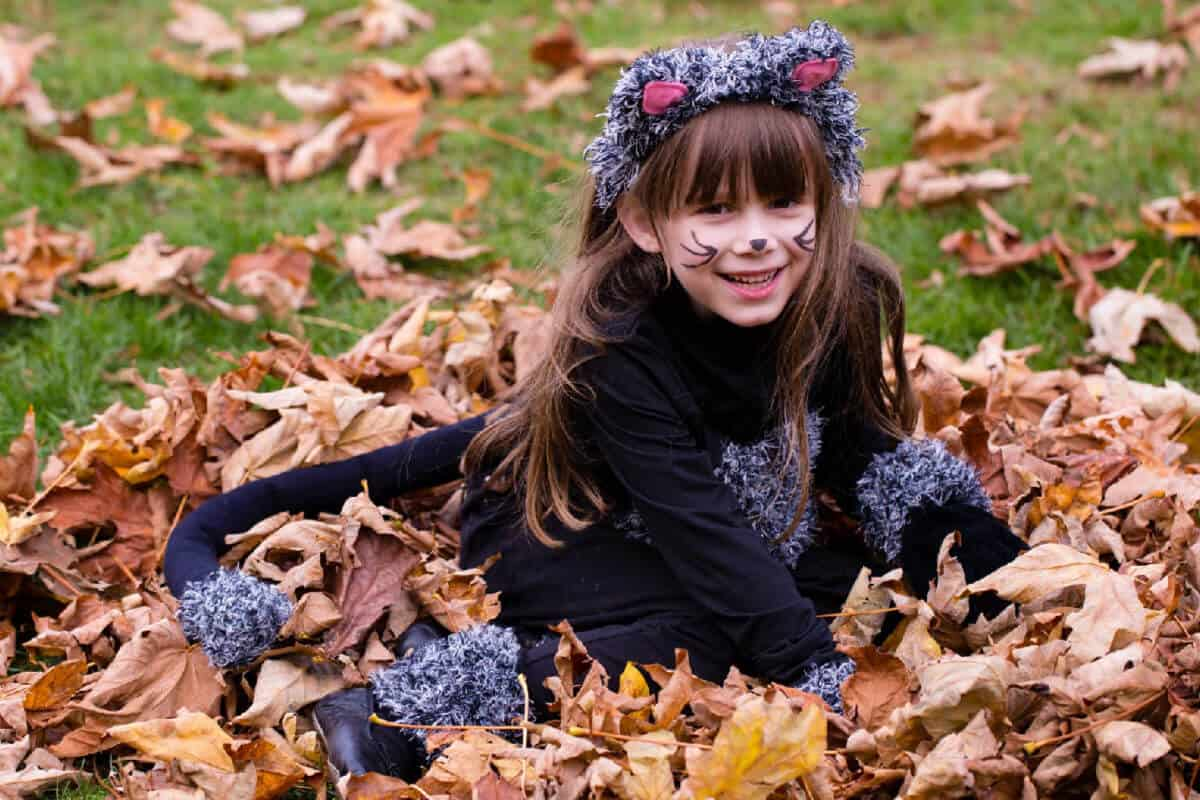 DIY Cat Costume For Girls - Easy to Make