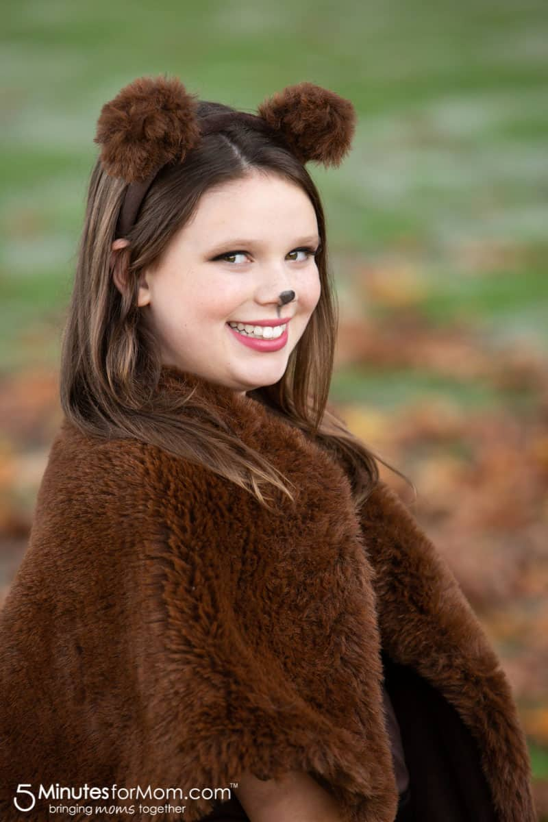 DIY Halloween Bear Costume