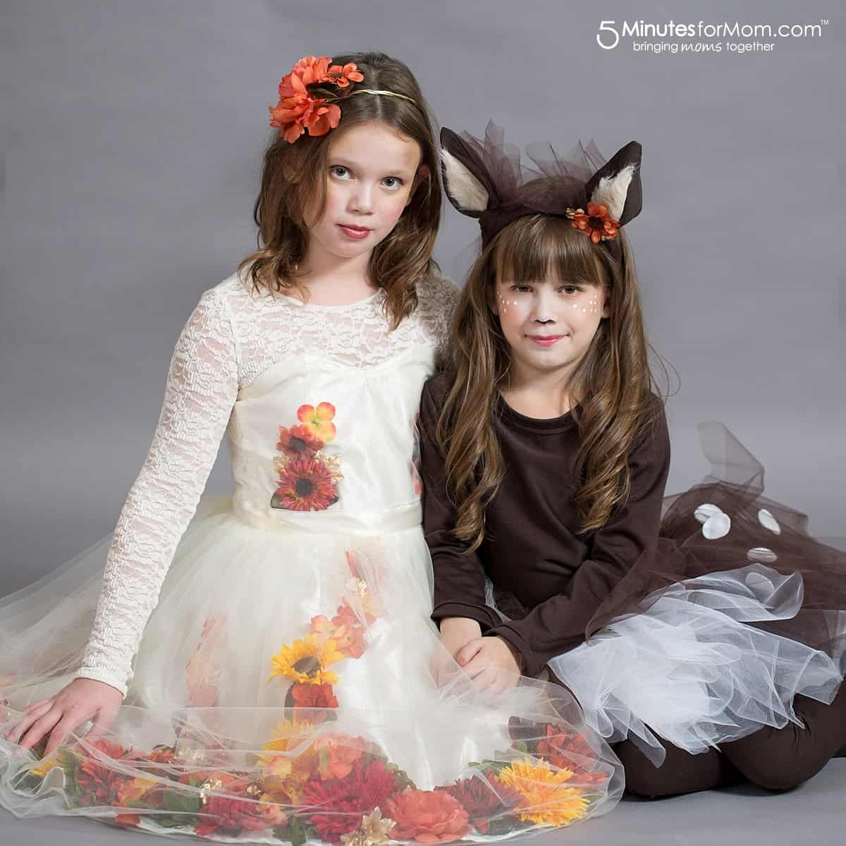 DIY Halloween Costumes for Girls