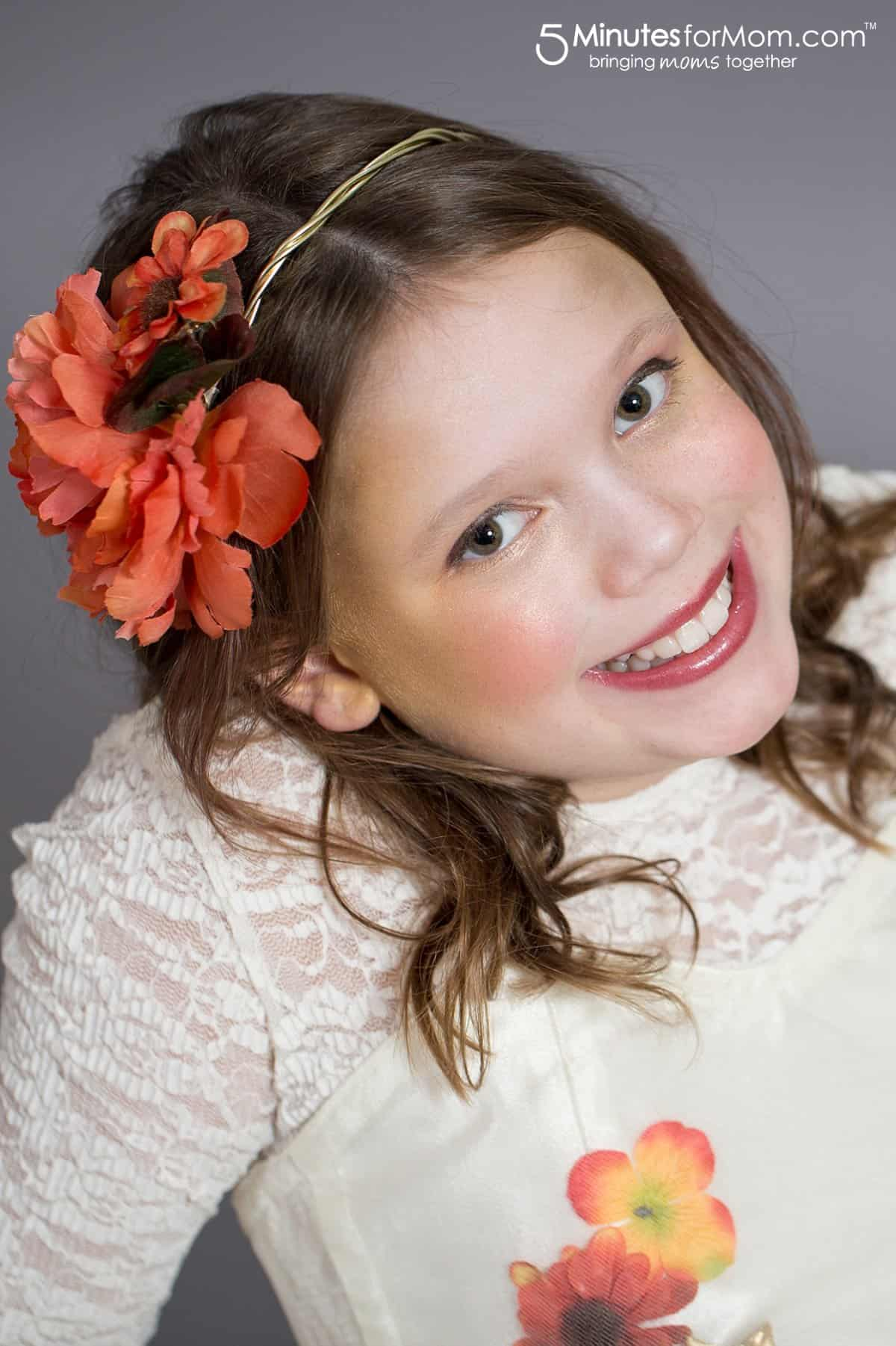 DIY Flower Crown - perfect for DIY Halloween Costumes for Girls