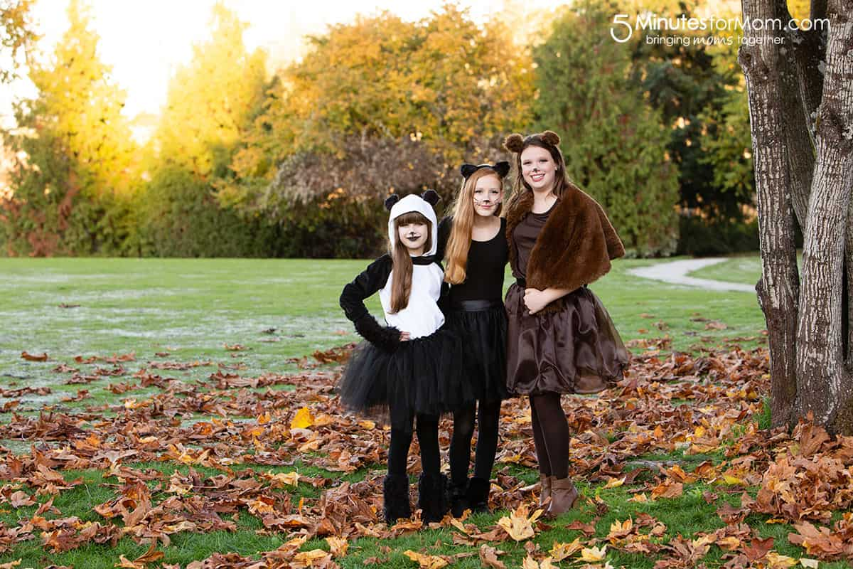 DIY Halloween Costumes for Teens and Tweens #DIYHalloweenCostumes