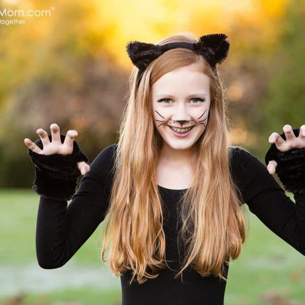 Easy Cat Costume – How To Make A Gorgeous Black Cat Costume