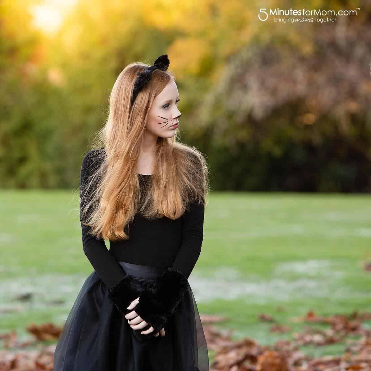 Easy Cat Costume #CatCostume #BlackCatCostume