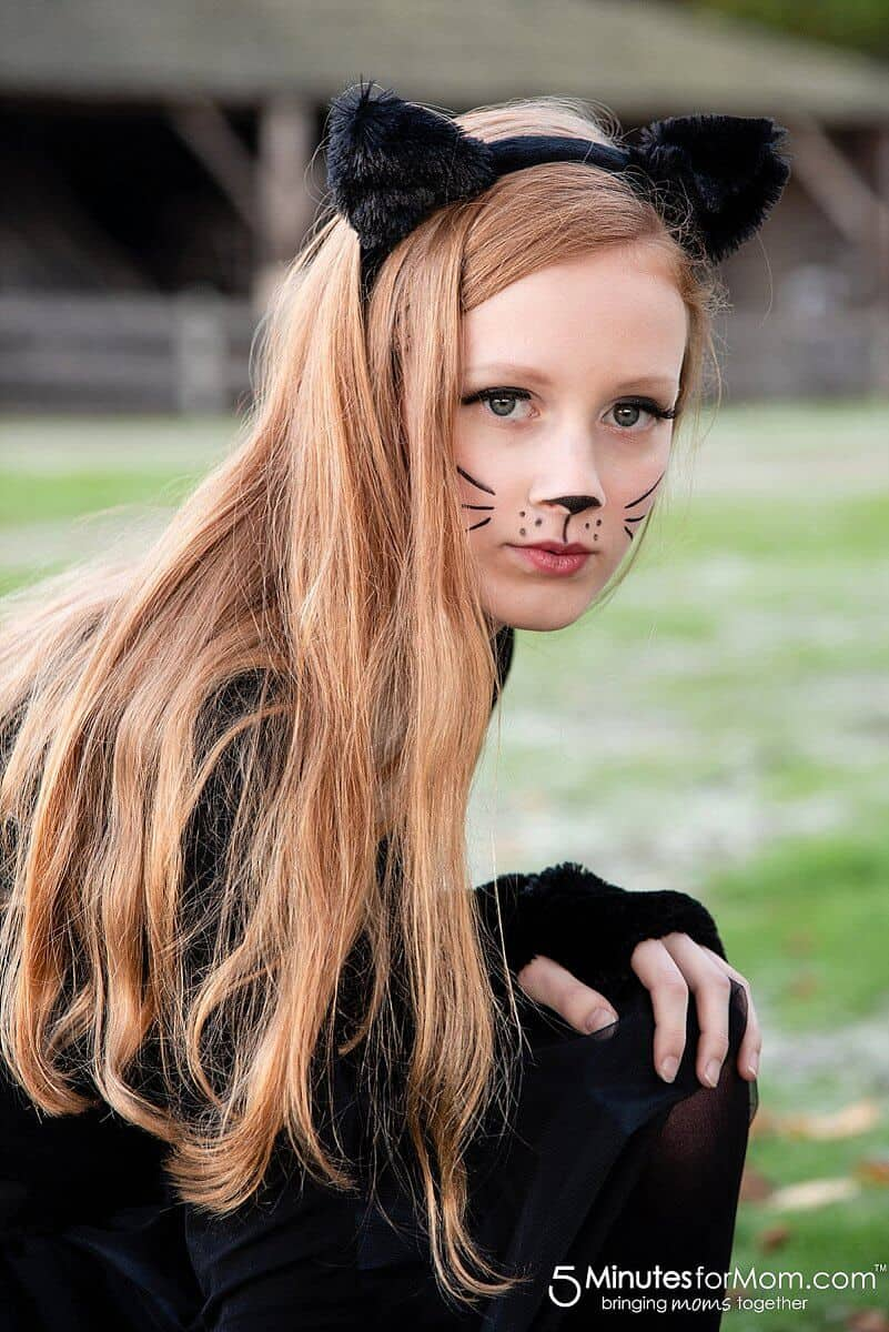 Easy Cat Costume #CatCostume #BlackCatCostume