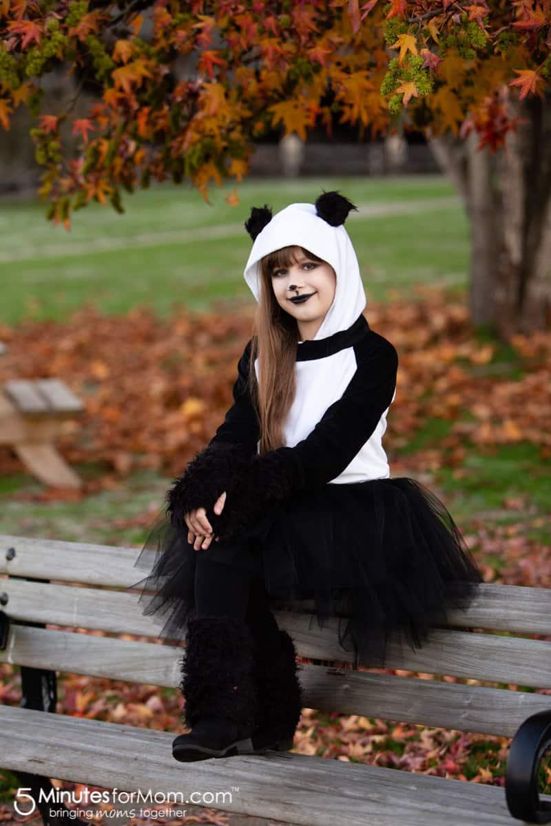 DIY Panda Costume