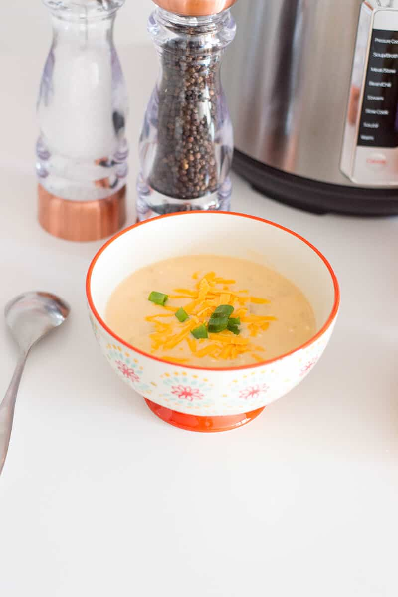 Don't be intimidated by your Instant Pot! This flavorful Instant Pot potato soup is everything you need for the Autumn season.