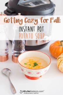 Instant Pot Potato Soup - Quick and Easy Recipe #instantpot #potatosoup