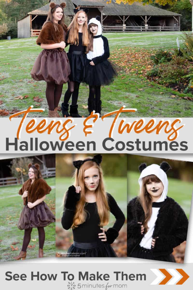Teen Halloween Costumes - DIY Costumes for Teenagers and Tweens