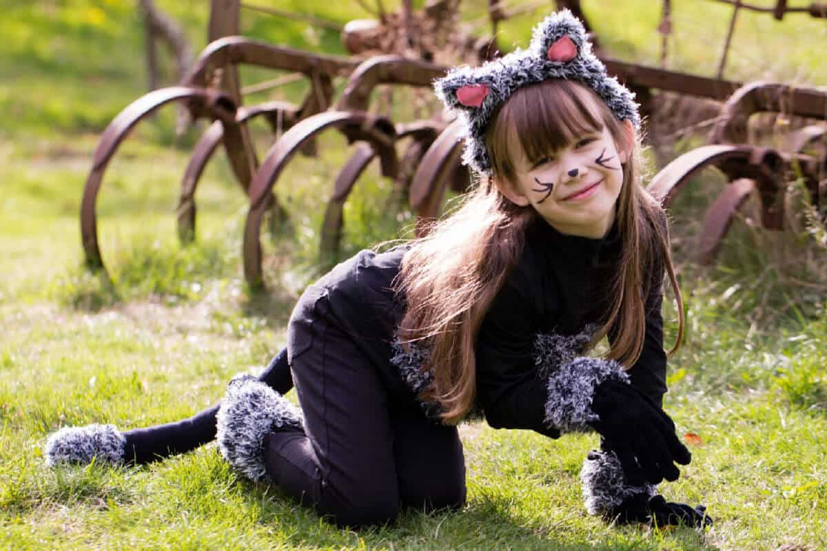 cute diy cat costume for kids