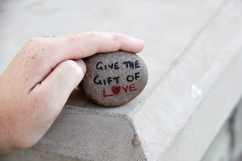 give the gift of love