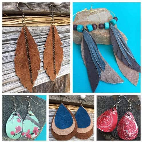 Avian Design Earrings
