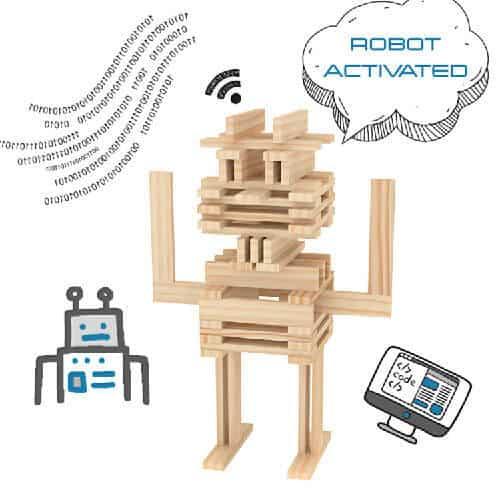 Brain Blox Robot