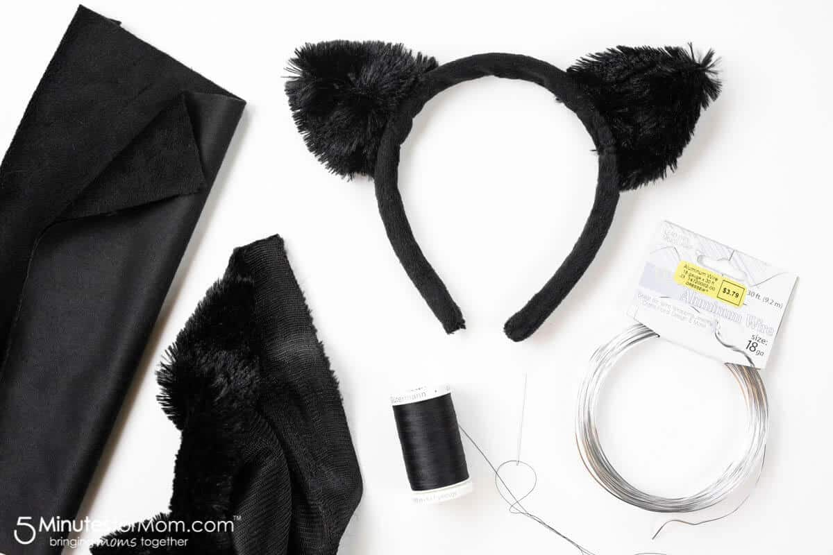 Easy Cat Costume - How to Make a DIY Cat Costume