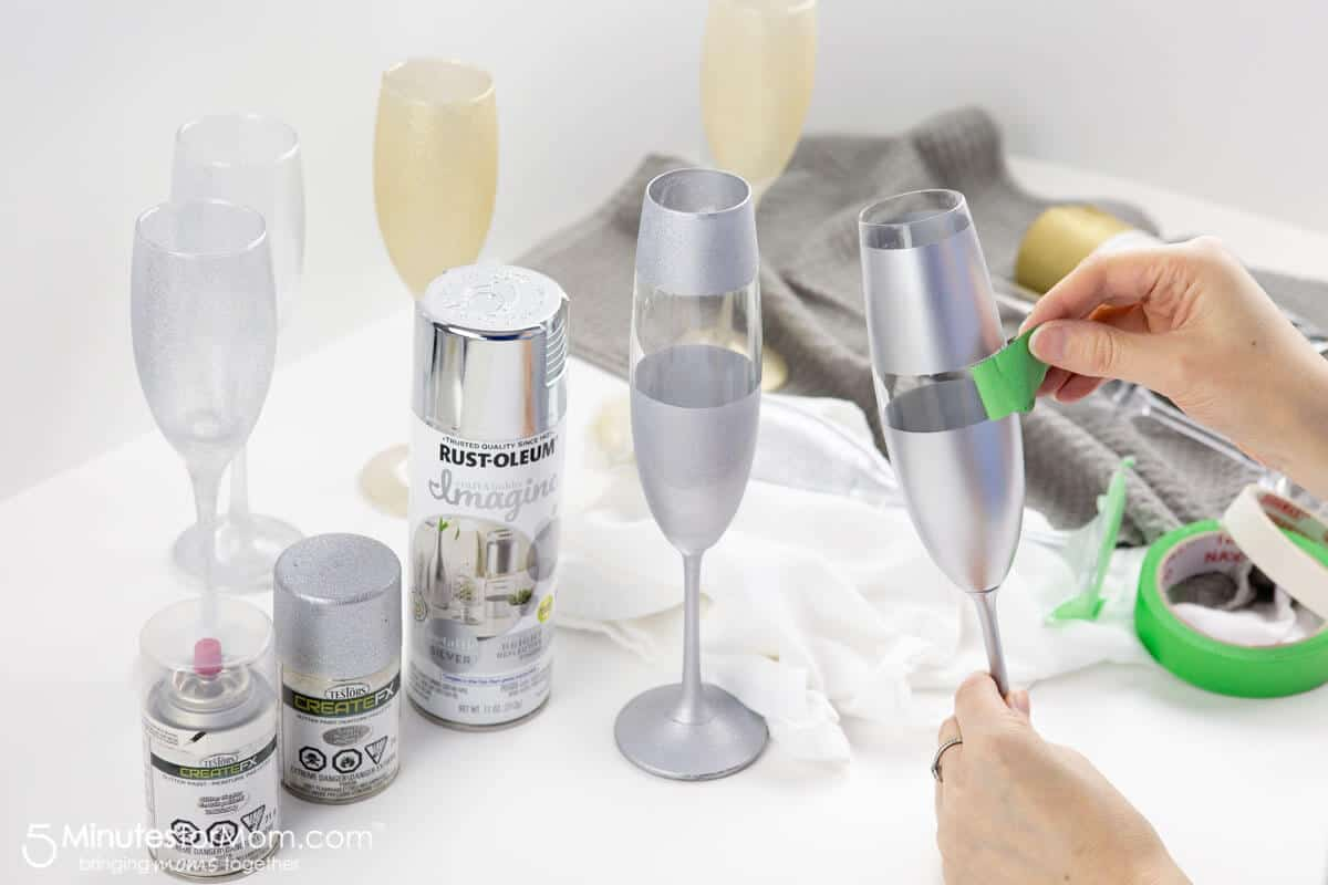 Painting Champagne Glasses