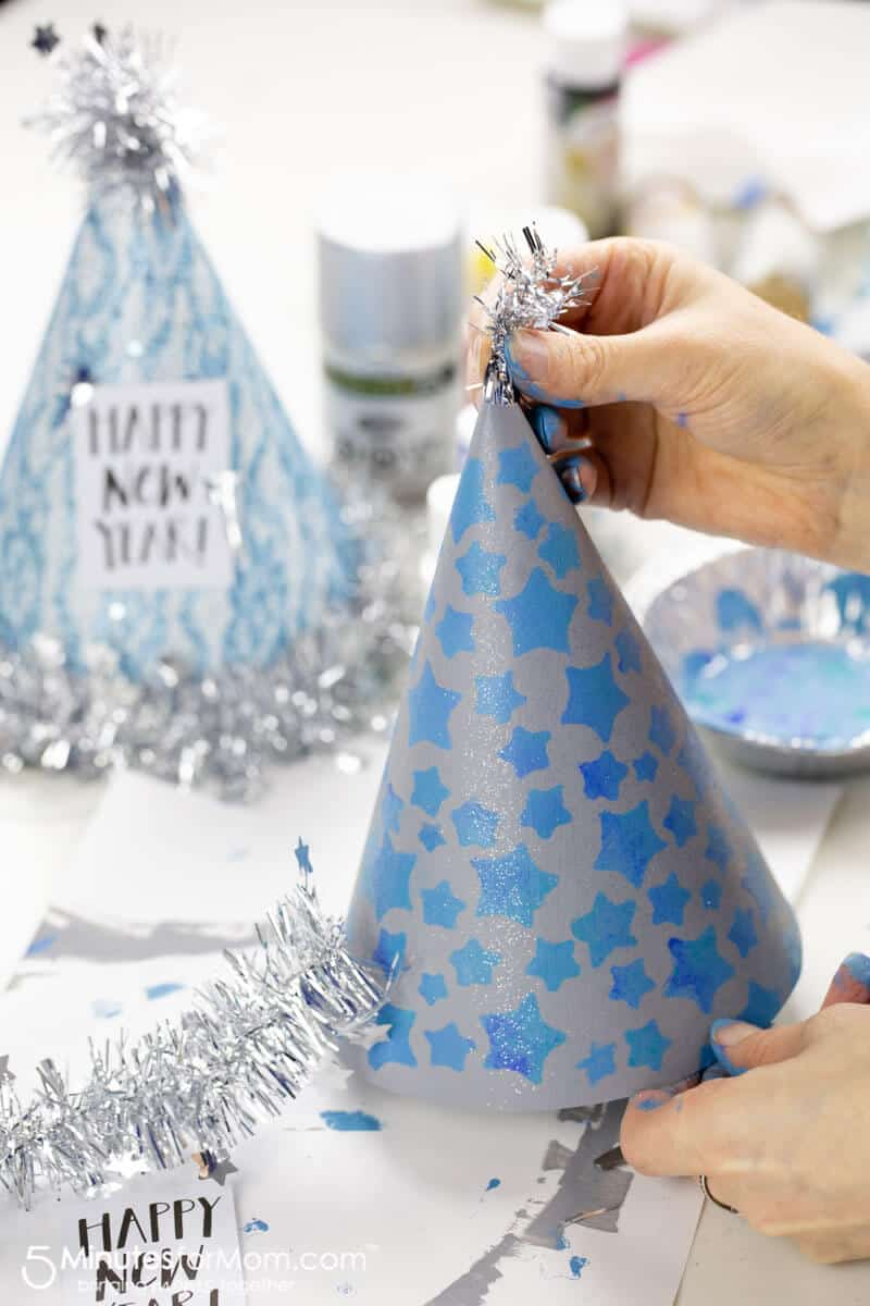 DIY Party Hats with free printables