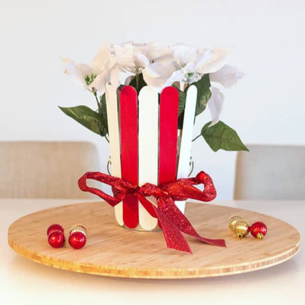 Easy Christmas Centerpiece For Your Holiday Tablescape