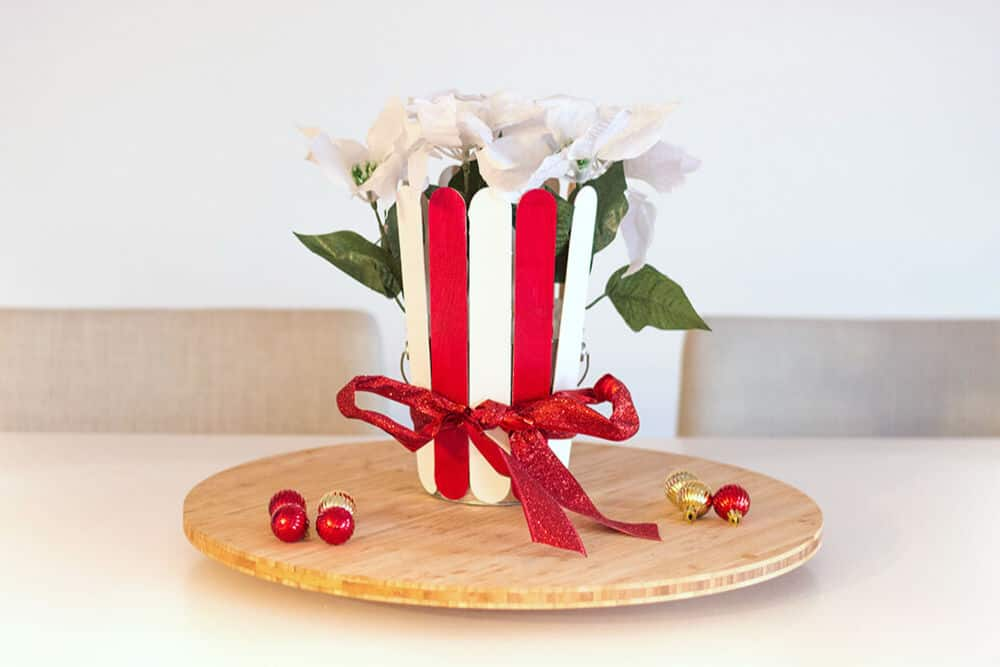Easy Christmas Centerpiece - Holiday DIY