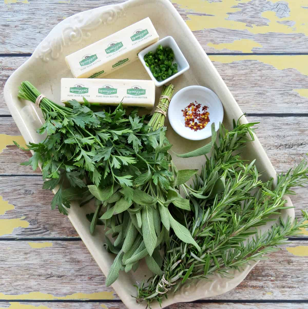 Easy Herb Butter Ingredients