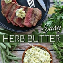 Easy Herb Butter - Quick Recipe