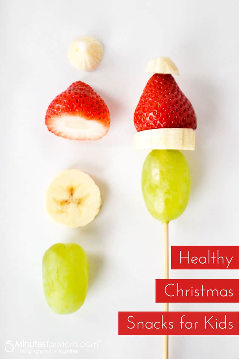 Healthy Christmas Snacks For Kids 5 Minutes For Mom